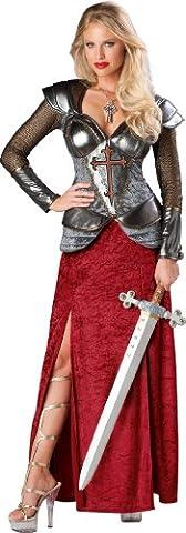 Jeanne dArc-Kostüm für Damen - Deluxe (Monster Bride Kostüm Make-up)