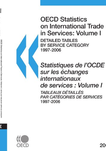 OECD Statistics on International Trade in Services 2008, Volume I, Detailed tables by service category: Edition 2008 par OECD Organisation for Economic Co-operation and Develop