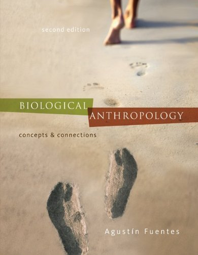 Biological Anthropology: Concepts and Connections 2nd by Fuentes, Agustin (2011) Paperback