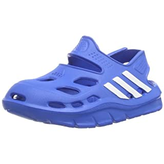on sale 4d1db c4b8b adidas Performance Unisex-Kinder VariSol I Knöchelriemchen Blau (Bahia Blue  S14 Running White FTW