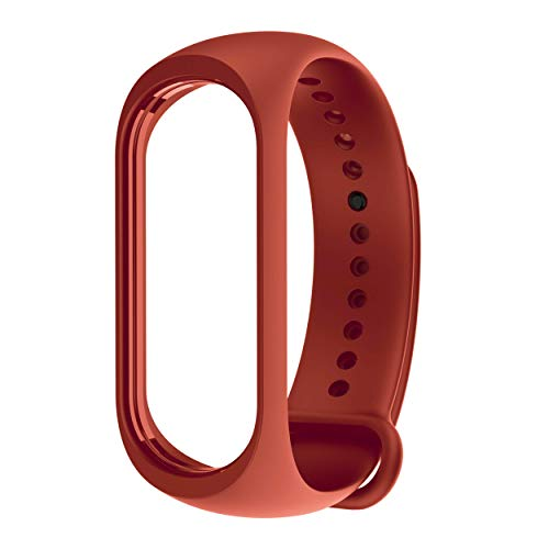 Xiaomi Mi Band 3 - Cinturino di Ricambio Originale, Colore: Arancione