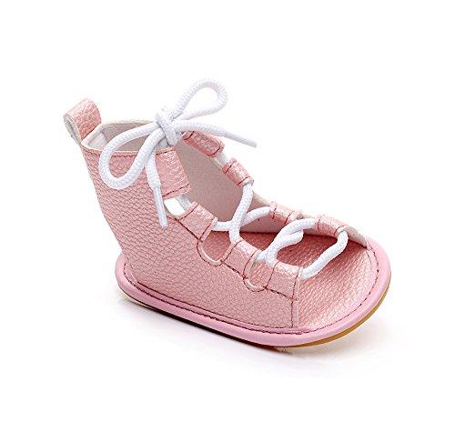 kind Schuhe Baby Mädchen Sandalen PU Roman Schuhe Lace Sandalen Stiefel Erste Wanderschuhe ()