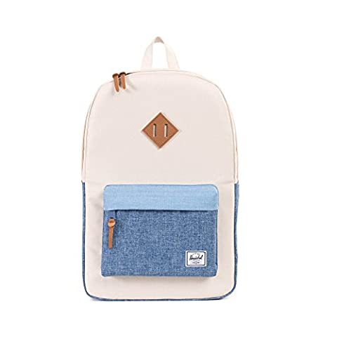 Herschel Supply Company SS16 Casual Daypack, 23 Liters, Natural/ Chambray Crosshatch/ Limogess Crosshatch/ Tan