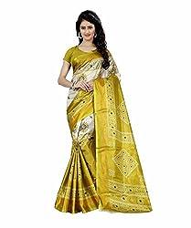 Trendz Taffeta Silk Bandhani Print Saree(TZ_1032_C)