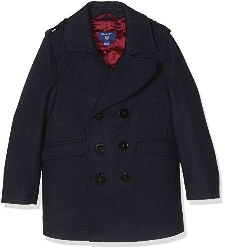 Gant Pea Coat, Giubbotto Bambino, Navy, Blu (Marine), 9-10 Anni