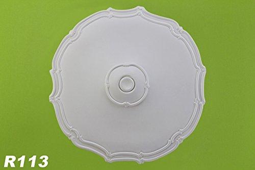 1-rosette-deckenrosette-wand-polyurethane-innendekor-dekor-stossfest-oe48cm-r113
