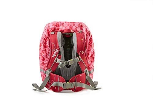 Ergobag Zubehör und Accessoires Rucksack-Regenüberzug Regencape 963 pink - 2