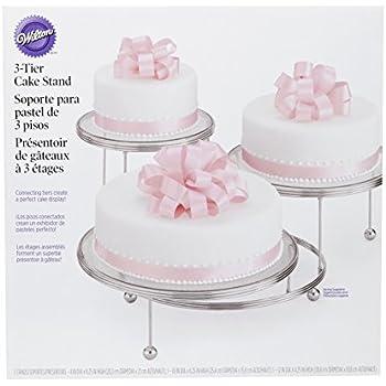 Wilton Cakes'N'More Présentoir à gâteaux 3 niveaux