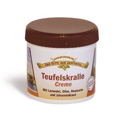 Teufelskralle Creme mit Lavendel, Olive, Rosmarin, Johanniskraut - 200 ml