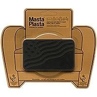 MastaPlasta Parches de reparación de Ante autoadhesivos, Color Negro. Elige el tamaño/diseño. Primeros Auxilios para sofás, Asientos de Coche, Bolsos, Chaquetas, etc, Negro, Black Suede Flag 10cmx6cm