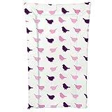 Kit For Kids Bird Large Changing Mat, Pink