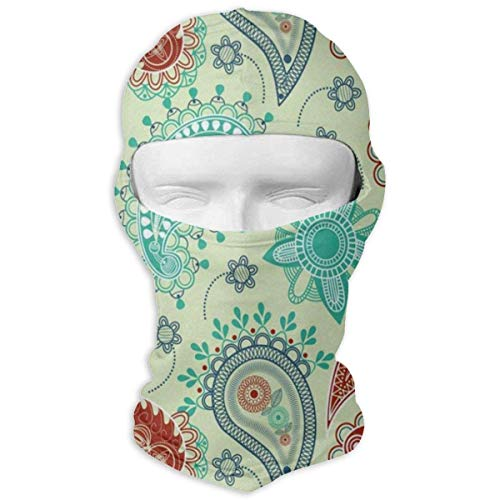 Balaclava Vintage Watercolor Liquid Marble Full Face Masks UV Protection Ski Sports Cap Motorcycle Neck Warmer Tactical Hood for Cycling Outdoor Sports Mountaineering Women Men Youth Design15 - Pollen, Gelee Royal