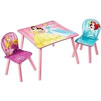 Preisvergleich für Disney Prinzessin - Set aus Tisch und 2 Stühlen für Kinder