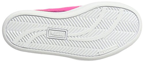 Puma Smash Fun Buck V Ps, Sneakers Basses Mixte Enfant Rose (Ultra Magenta-knockout Pink 09)