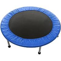 Flabor Fitness Trampolin Faltbar Indoor Rebounder Gymnastik Trampolin Ausdauertraining Gartentrampolin Durchmesser: (91-137cm)