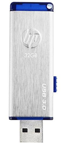 HP X730W USB 3.0 32GB Pen Drive (Silver & Blue)