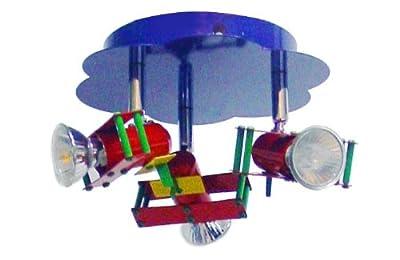 Deckenspot Deckenstrahler Kinderzimmer Spot Kinder Flieger Globo Pilot 5716-3 von Globo auf Lampenhans.de