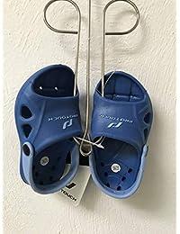 9540d81c6 ... Scarpe sportive : Infradito e ciabatte da spiaggia : Intersport. Pro  Touch Ciabatte Slide SLAPPY JR con cinghia – Blu, multicolore, ...