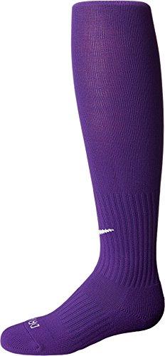 Nike Erwachsene Classic II Cushion Fußballstutzen, Court Purple/White, M/EU 38-42