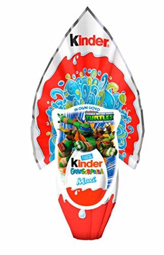 OFFICIAL 2018 TMNT Teenage Mutant Ninja Turtles Kinder GranSurprise MAXI – Helfer auf vier Pfoten Milchschokoladen Osterei Größe + Überraschungs-Innere (EXKLUSIV) Junge BESTELLUNG BIS ZUM 10. APRIL FÜR LIEFERUNG VOR OSTERN