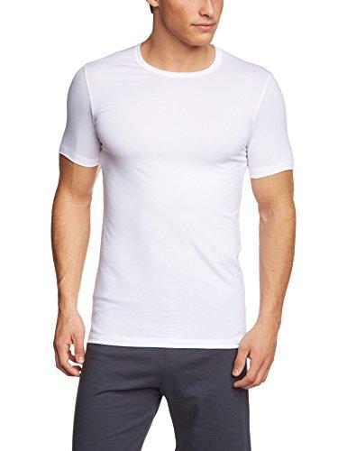 Calida Herren Unterhemd T-Shirt Evolution Weiß (weiss 001)