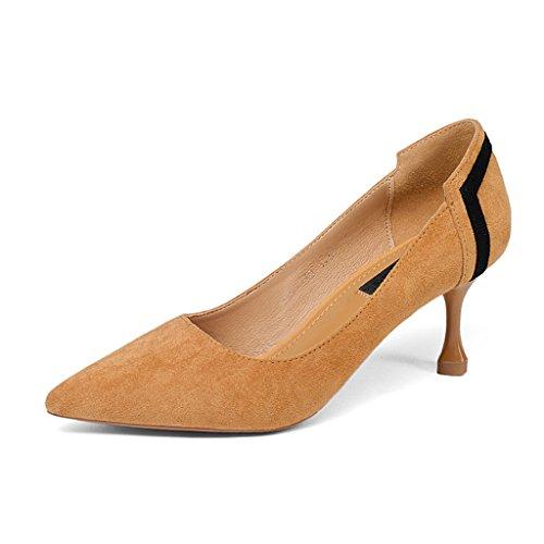 6f5a709e6b5e0d Hwf Chaussures Femme Chaussures À Talons Hauts Chaussures À Lacets Mi-talon  Chaussures Femme Talons. Chaussures pour femmes; Catégorie de couleur: ...