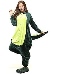 Tante Tina Ganzkörperkostüm für Erwachsene - Kostüm für Erwachsene aus kuschligem Plüsch und Flannel - viele Tiere zur Auswahl