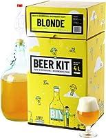 Brassez votre propre bière blonde à la maison comme un vrai maître brasseur ! Ce Beer Kit de niveau intermédiaire vous permet de réaliser toutes les étapes du brassage et ainsi d'avoir l'expérience de A à Z. Ce kit contient tout le matériel réutilisa...