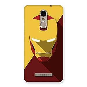 Impressive Real Genius Back Case Cover for Xiaomi Redmi Note 3
