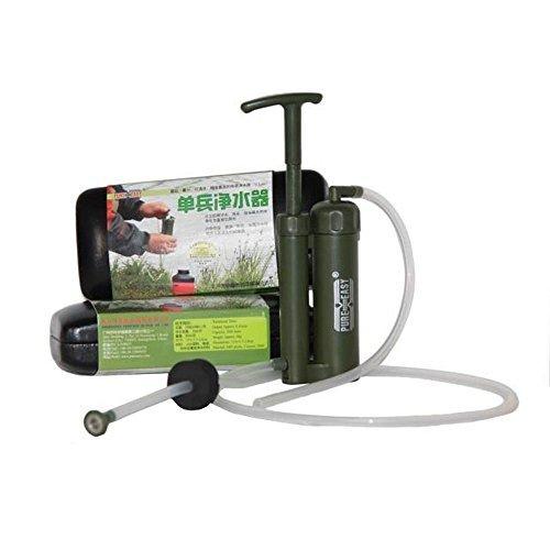 Winterworm Puro fácil Portable plástico soldado de cerámica filtro de agua  purificador limpiador 0,1 Micro para al aire libre supervivencia
