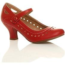 cb55eb9f316 Chaussures escarpins babies classique cœur découpée femmes petit ...