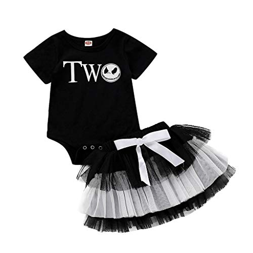 Süßeste Hund Halloween Kostüm - INLLADDY Kostüm Kleidungset Baby Kurzarm Top