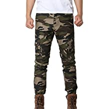 ELECTRI Pantalons de Camouflage pour Homme 6881209e3a0