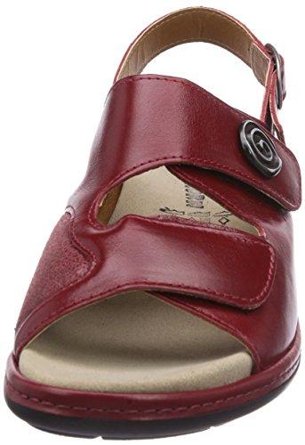 Gevavi  4977 BIGHORN Sandale, Mules femmes Rouge - Rot (rot(rot) 03)