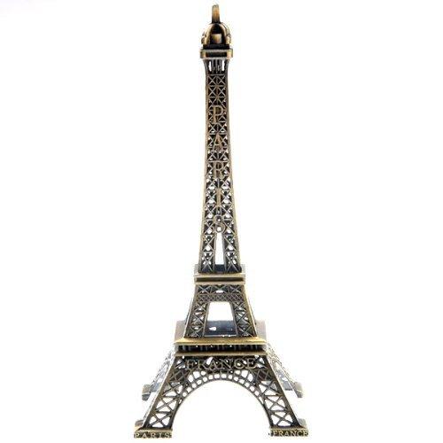 Lyuboov Modelo estatua metal torre Eiffel decoración