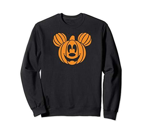 Disney Mickey Mouse Halloween Pumpkin Sweatshirt