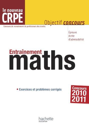 Entrainement pour le CRPE : mathématiques