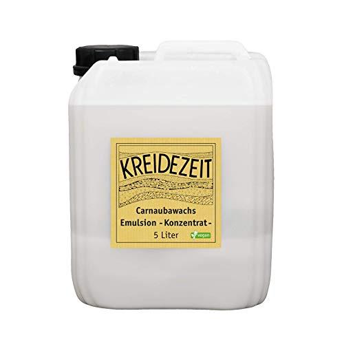 Carnaubawachs Emulsion Konzentrat (5 l)