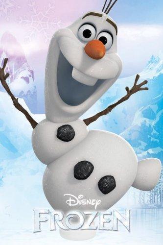 Disney GB Eye Frozen Olaf Maxi Poster, Mehrfarbig