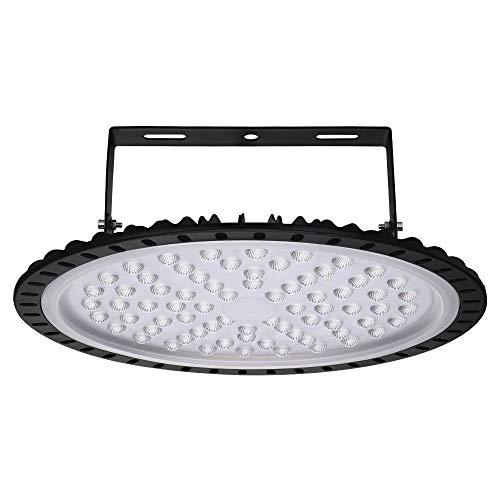Lámpara industrial UFO LED de 50W 100W 200W 300W 500W, luz LED High Bay, iluminación de sala, iluminación de taller, luz de techo, reflectores LED de interior, 6000-6500K (300W)
