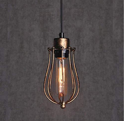Deckenleuchten Lampen Kronleuchter Pendelleuchten Retro Licht Vintage Wandleuchte Innenleuchte Nackte Glühbirne Edison Sockel Wandleuchte Einzigen Licht Schwarz für Schlafzimmer Wohnzimmer Küche Gang - Schwarz Einzigen Licht-wandleuchte
