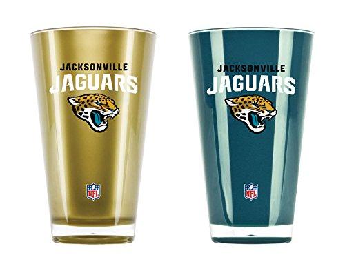NFL Set von zwei 20Unze Tumbler, Jacksonville Jaguars - Zwei 2-unze-gläser