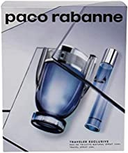 Paco Rabanne Invictus 2 Pc Travel Set EDT For Women, 3.4 Oz