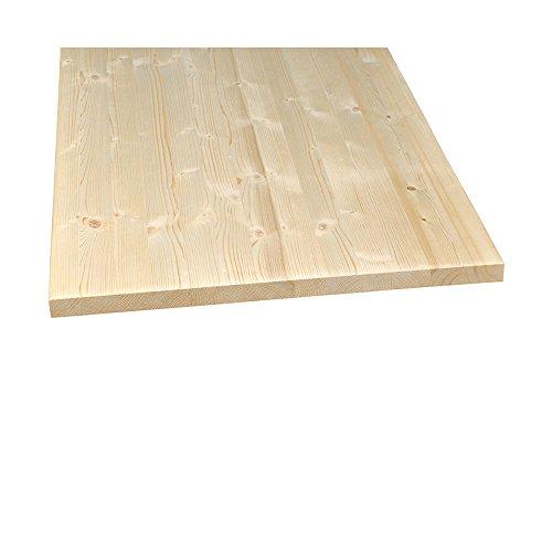 Möbelbauplatte Regalbrett Regalboden Leimholz Fichte Naturwuchs 1200 x 600 x 18 mm