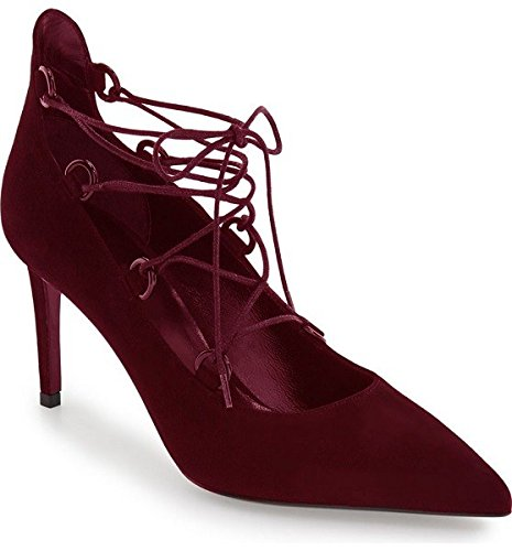 Escarpin en Daim Model EUGENIE par HGilliane Design Eu 33 au 44 Bordeaux