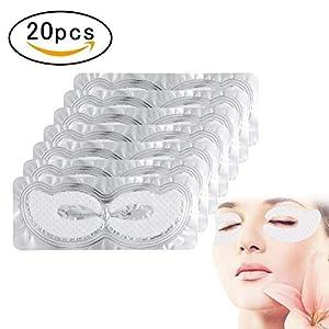 20paia di collagene Crystal Eye Pad Eye Pads, umidità anti rughe invecchiamento maschera alleviare la fatica patch