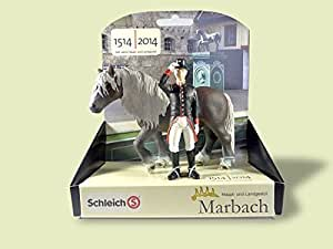 Schleich - 82895 - Marbach Forêt-Noire Avec Palefreniers Haras - Personnage Spécial Exclusif!
