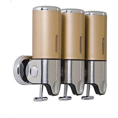 OOFAY YSPJ ® Multifunción presión acero inoxidable líquido jabón jabón distribución emulsión , yellow