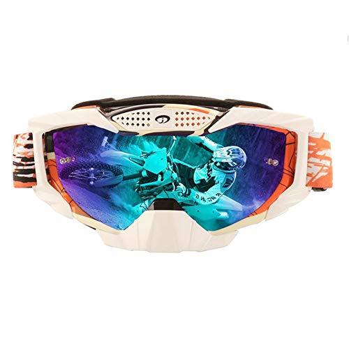 MaxAst Brille Winddicht Radsport Skibrille Herren Damen Unisex Schutzbrille Outdoor Rot Multicolor