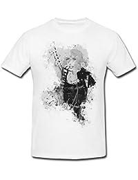 Lady Gaga-(2) T-Shirt Herren, Men mit stylischen Motiv von Paul Sinus